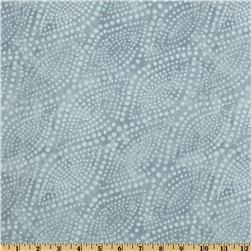 Diagonal Dots 108'' Quilt Backing Silver/Grey