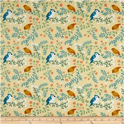 Acorn Trail Birds and Branches Cream