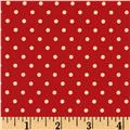 Moda Chestnut Street Polka Dot Pomegranate