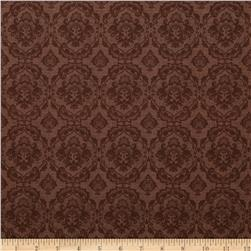 Coffee Moment Damask Brown