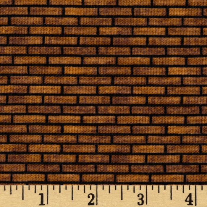 All Around The Town Brick Texture Gold