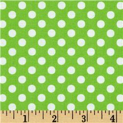 Moda Dot .Dot.Dash-! Dots Everywhere Green