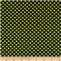 Maywood Studio Halloweenie Simple Checkerboard Black/Green