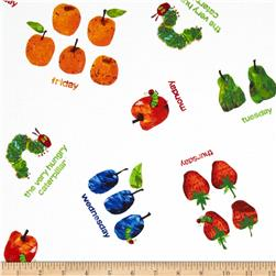 The Very Hungry Caterpillar Dots Small Scattered Fruit