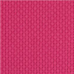60'' Monk's Cloth Hot Pink Fabric