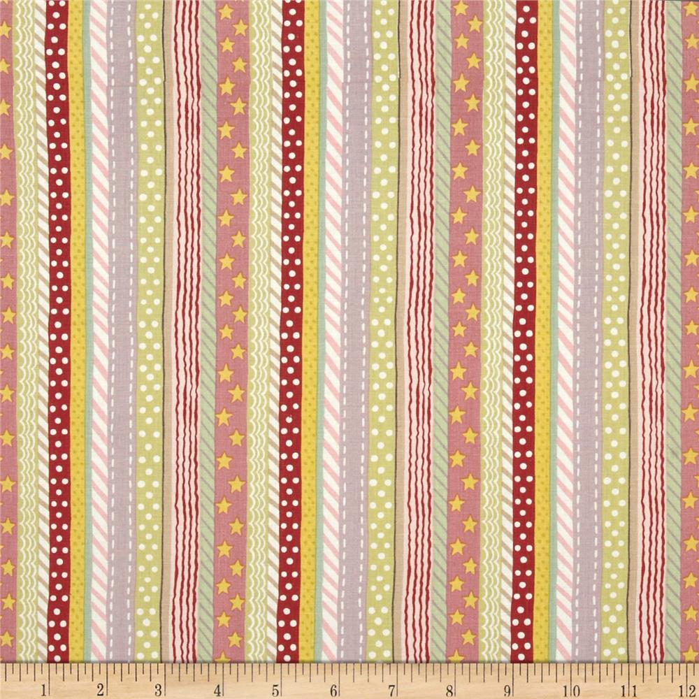 Toyland Stripe Cream Pastel