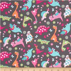 Girly-o-Saurus Dino Collage Multi