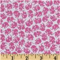 Michael Miller Little Elephants Flannel Orchid