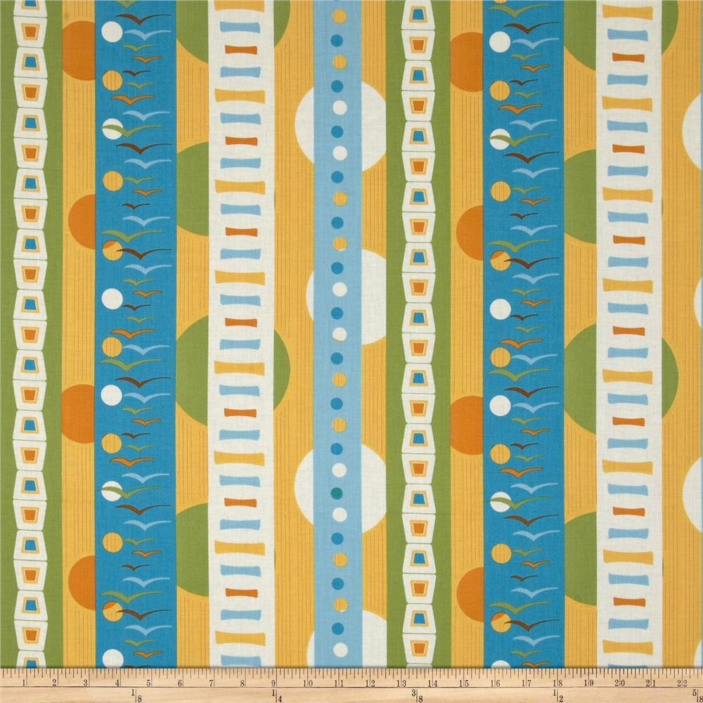 Flock Repeating Stripe Multi