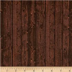 Ranch Hands Wood Grain Brown