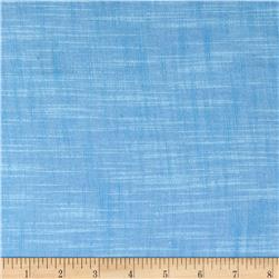 Kaufman Manchester Textured Yarn Dye Solid Shirting Blue