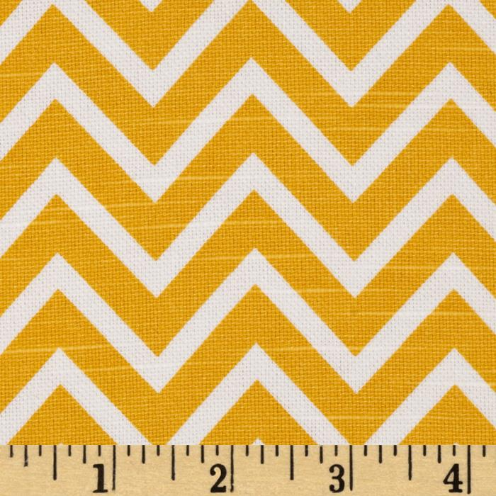 Premier Prints Cosmo Slub Corn Yellow