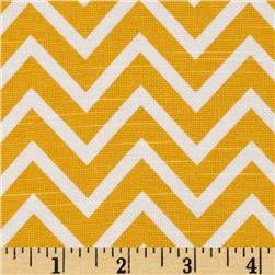 Premier Prints Cosmo Slub Corn Yellow Fabric
