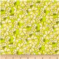 Daphne Tossed Floral Yellow/Green