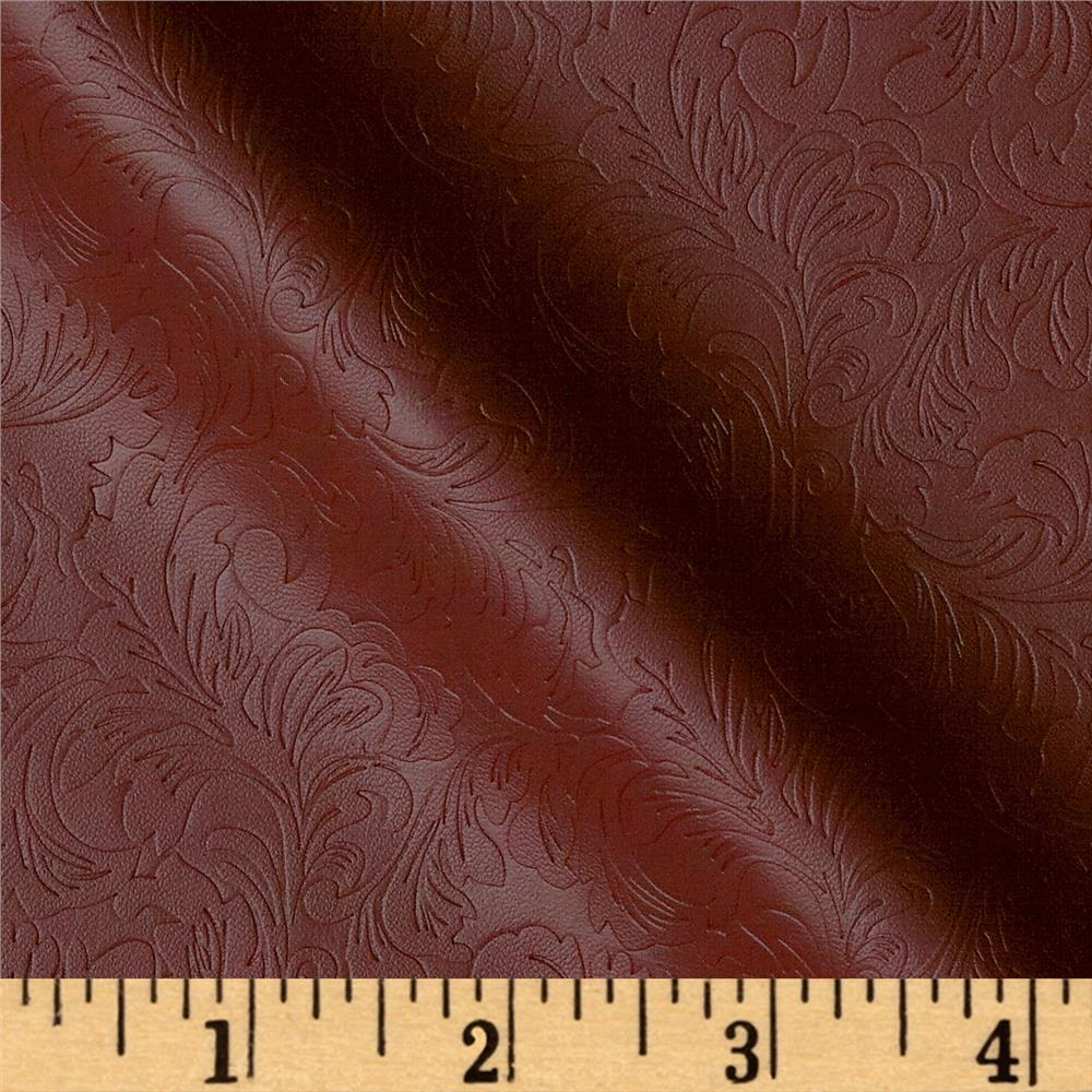 Deadwood Faux Leather Red