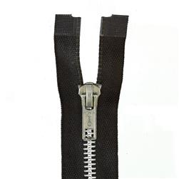 Heavy Weight Aluminum Separating Zipper 18