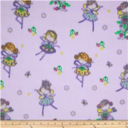 Arctic Fleece Fairy Purple