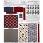 Riley Blake Maverick Gameboard Panel Red