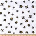 Minky Cuddle Prints Bees-A-Buzz Sunshine