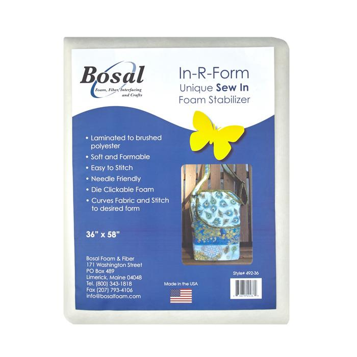 Bosal In-R-Form Sew-In 1 yard Foam Stabilizer