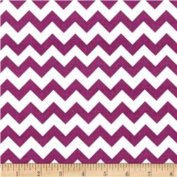 Riley Blake 58'' Manufactures Cut Small Chevron Purple