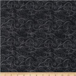 Essentials Swirly Scroll Black