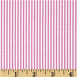 Dear Stella Dress Stripe Fuchsia