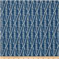 Valori Wells Ashton Road Flannel Fern Stripe Navy