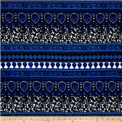Liverpool Double Knit Paisley Parade Blue