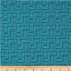 Michael Miller Just My Type Crossgrain Navy Fabric