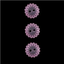 Novelty Button 5/8'' Soft Bloom Lavnder