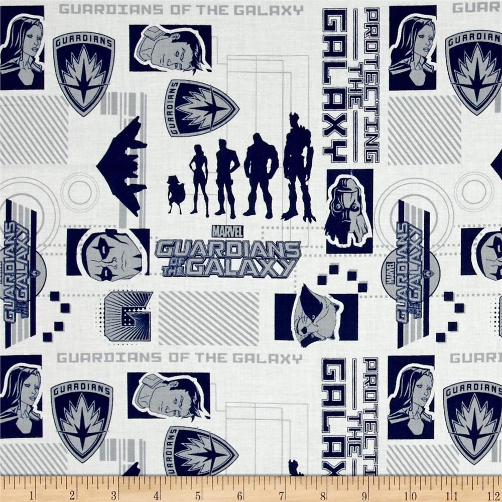Marvel Guardians of the Galaxy Silhouettes Navy