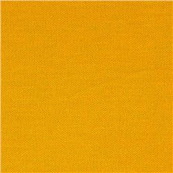 Poly Pique Knit Mustard Gold
