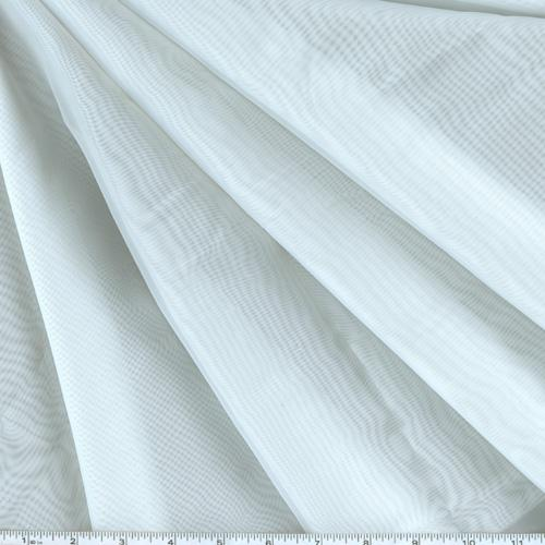 Hanes 118'' Window Sheer Voile White Fabric By The Yard