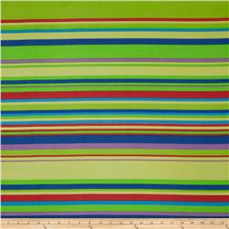 Chiffon Stripes Lime/Yellow