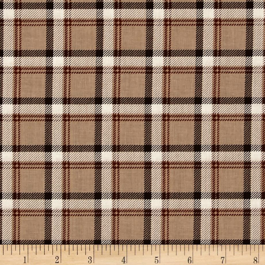 Kanvas Best in Show Classic Plaid Tan