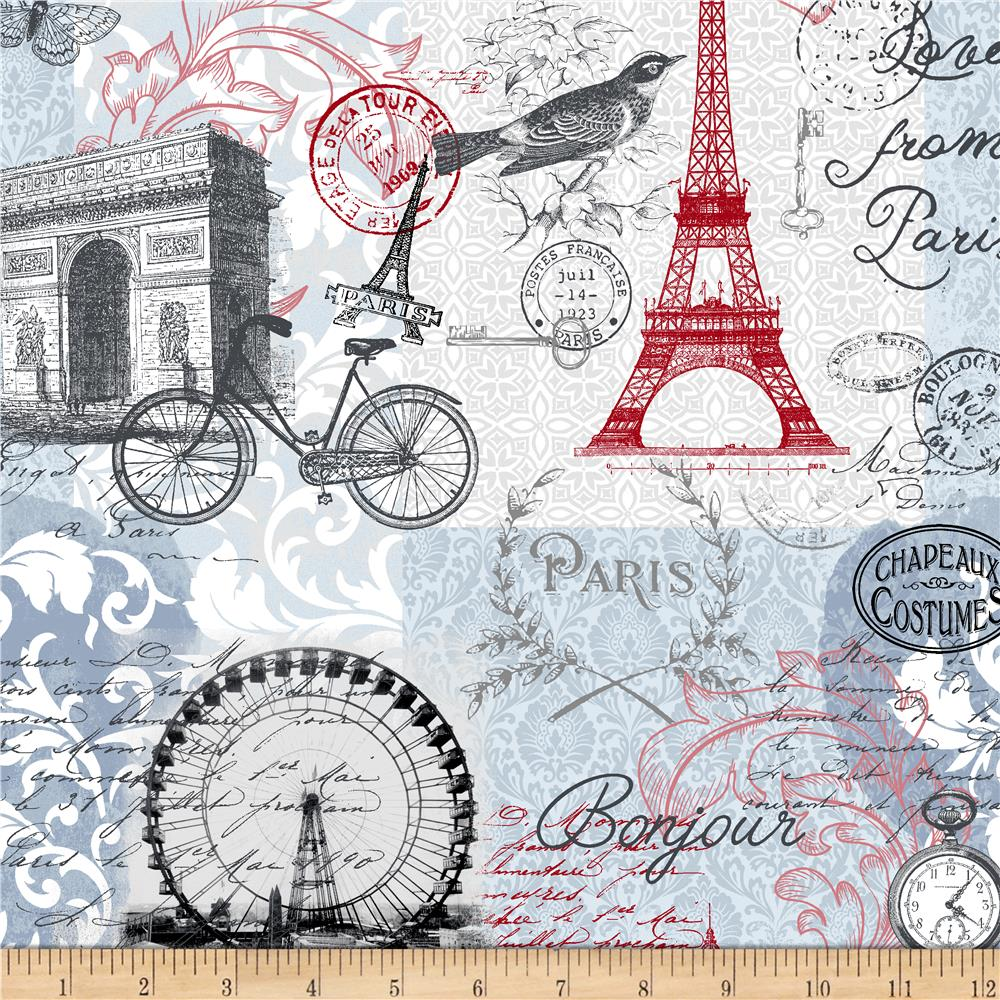 Love From Paris Love From Paris Multi Fabric 0573021