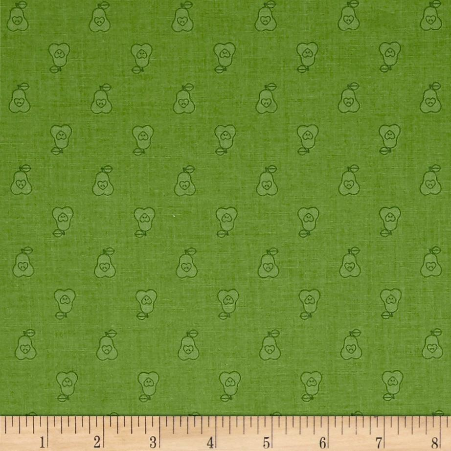 Riley Blake Bee Basics Pear Green