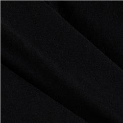 Stretch Rayon Blend Jersey Knit Black
