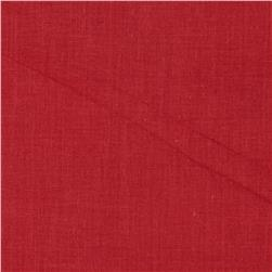 Cotton Voile Brick Red