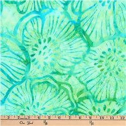 Kaufman Batiks Greenhouse Flower Sweet Pea