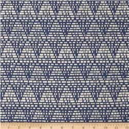 Duralee Home Tagine Upholstery Jacquard Navy