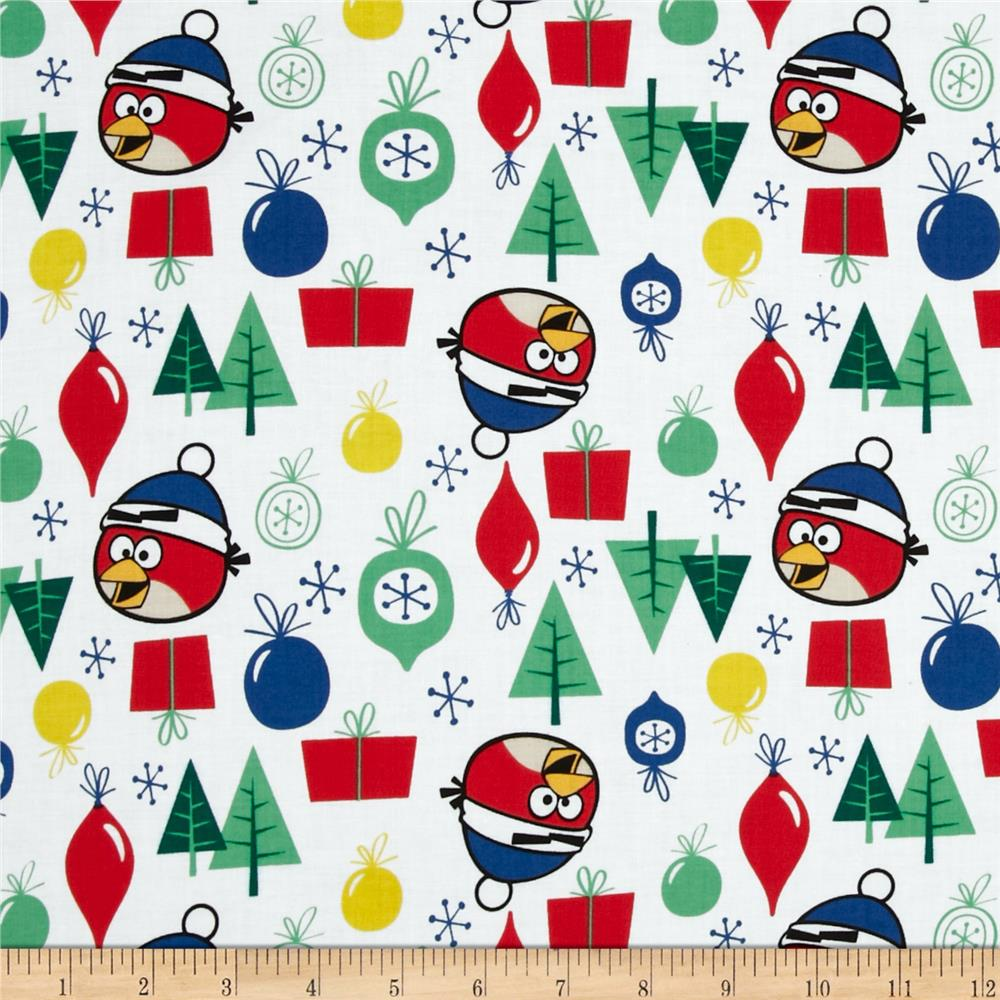 Angry Birds Ornaments White