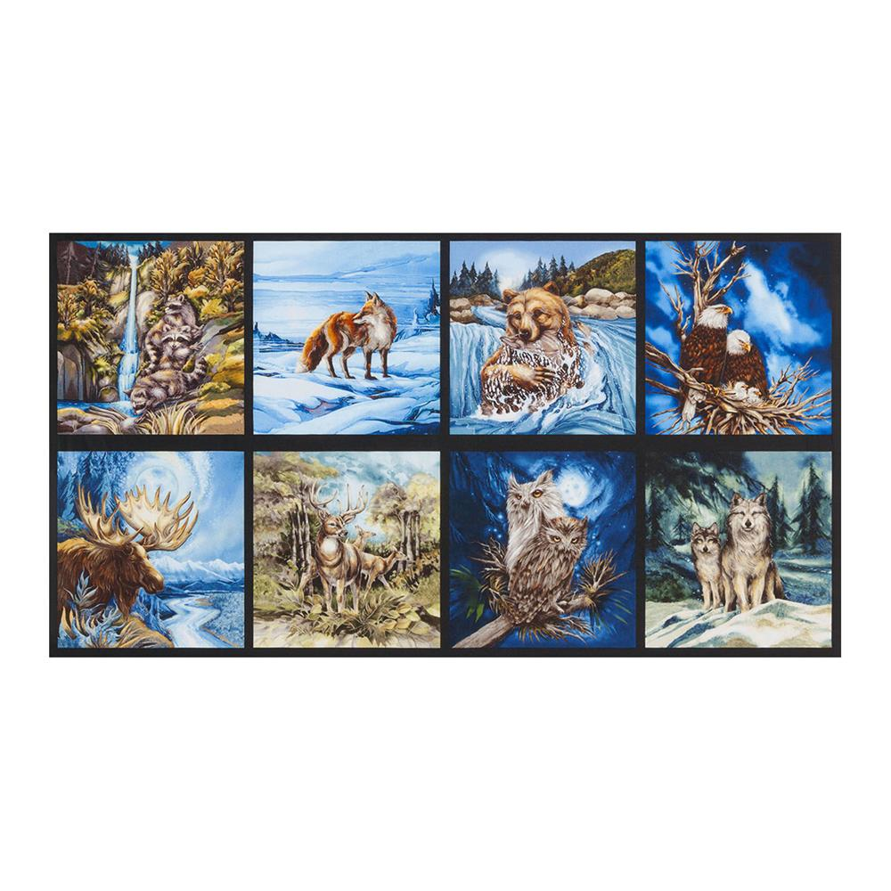 Kaufman North American Wildlife 24 Quot Panel Earth Discount