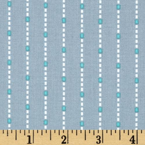 Hazel Dotted Stripe Grey