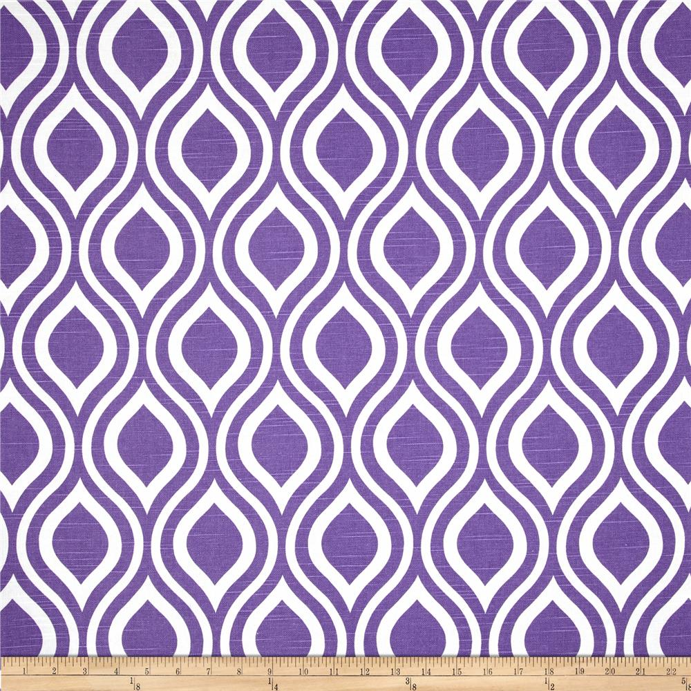 Premier Prints Nicole Slub Thistle Purple