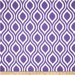 Premier Prints Nicole Slub Thistle Purple Fabric