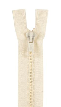 Sport Separating Zipper 14'' Natural