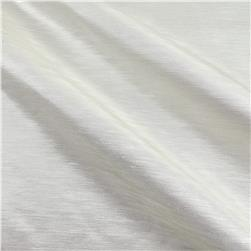 European Linen/Silk Blend Satin Ivory