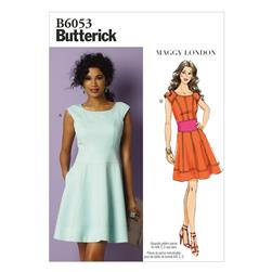Butterick Misses' Dress Pattern B6053 Size B50